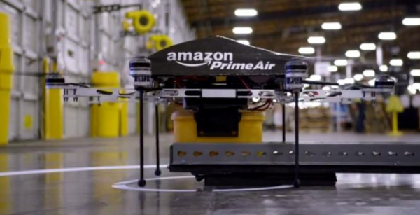 Amazon to test drones for same day delivery services in Cambridge, England