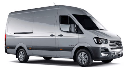 Same Day Delivery van