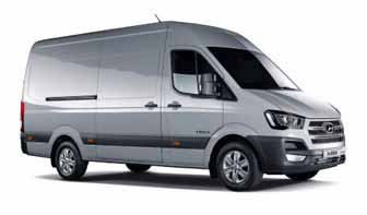 Hyundai cell powered commercial vans