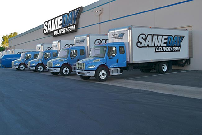 Same Day Delivery Services California