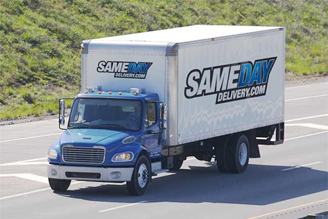 Same Day Delivery Vancouver, British Columbia