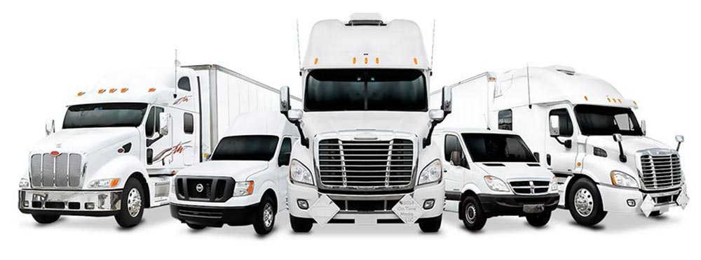 Same Day Delivery Services Trucks